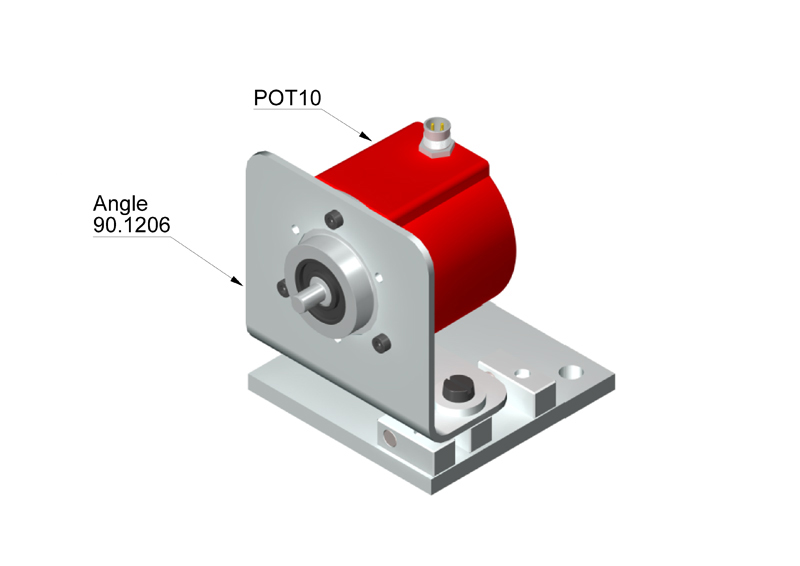how to connect potentiometer in series